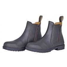 Nubuck jodphur laarzen met rits Texas