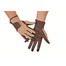 Rijhandschoen geschikt voor touchscreenbediening