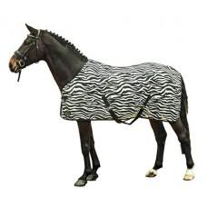 Zebra vliegendeken met Kruissingels