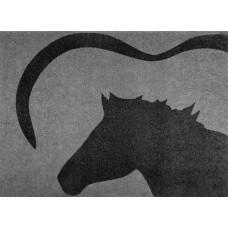 Deurmat -Paardenhoofd- 70 x 50 cm