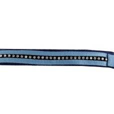 Halster + touw -Crystal- zacht onderlegd