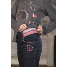 Jeggings Denim -Julia- silicone-knievlak