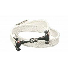 Lederen armband -Bit-