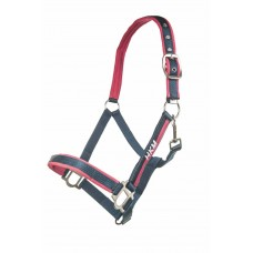 Nylonhalster met touw 180 cm en karabijnhaak