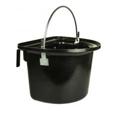 Voeremmer 12 liter met hengsel en ophangbeugel