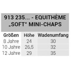 """EQUITHÈME """"Soft"""" mini-chaps"""