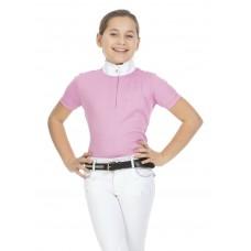 """EQUITHÈME """"Mesh"""" polo shirt, korte mouwen Dames"""