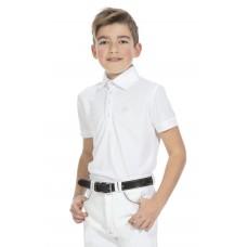 """EQUITHÈME """"Mesh"""" polo shirt, korte mouwen"""