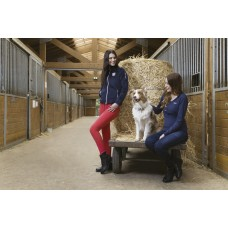 "EQUIT'M"" Polar fleece vest met lange vezels Dames"