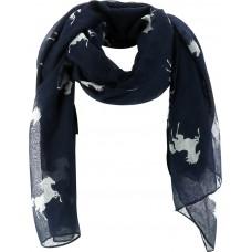 EQUITHÈME Sjaal met paarden