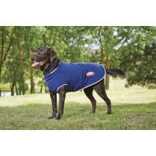 WEATHERBEETA Fleece Zip hondendeken zwart/beskleurig