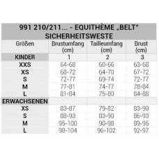 """EQUITHÈME """"Belt"""" body protector Kinder"""