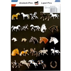 Display kaart paarden designs, 25 pins