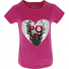"EQUI-KIDS ""Pony Love"" Magic T-Shirt - Meisjes"
