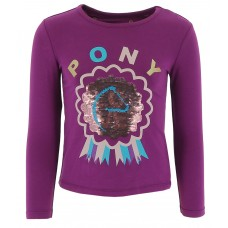 "EQUI-KIDS ""Ponylove"" T-shirt met pailetten-meisjes"