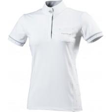 "EQUITHÈME ""Cristal"" polo shirt, short sleeves"