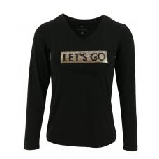 EQUITHÈME T-shirt met pailletten - Dames