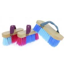 "HIPPOTONIC ""Magnet Brush"" Tweekleurige harde borstel"